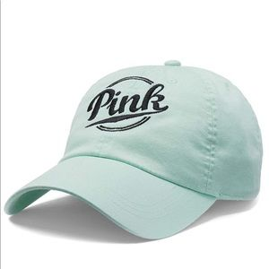 Victoria Secret Pink baseball hat color sea foam